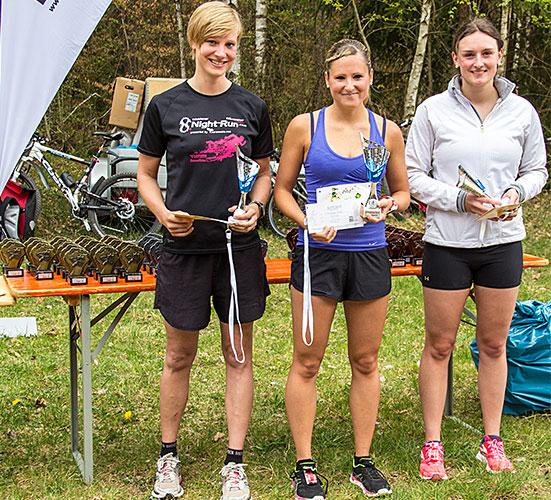 Sieger Damen Gesamt 10km 2015