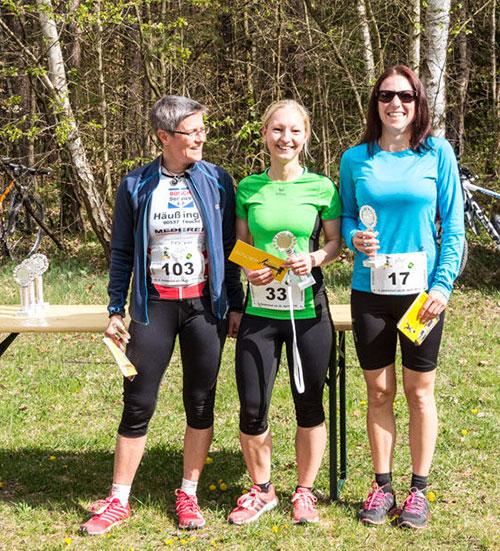 Sieger Damen Gesamt 5km