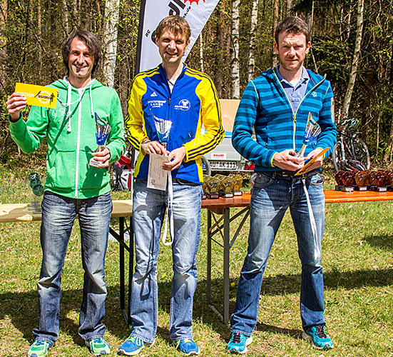 Sieger Herren Gesamt 10km 2015