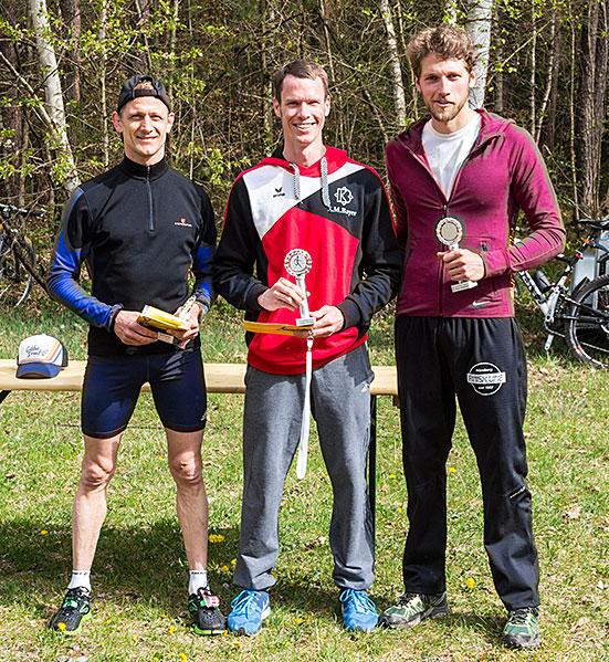 Sieger Herren 5km 2015