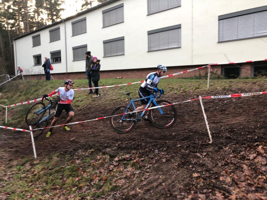 Rennen der Rad-Bundesliga im Cyclocross in Kaiserslautern und Kehl
