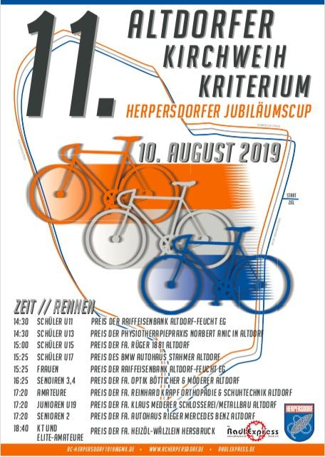 11. Altdorfer Kirchweih-Radrennen