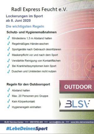 Hygieneschutzkonzept für Sportvereine