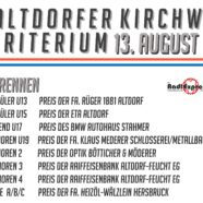 Vorankündigung – 9. Altdorfer Kirchweih-Radrennen