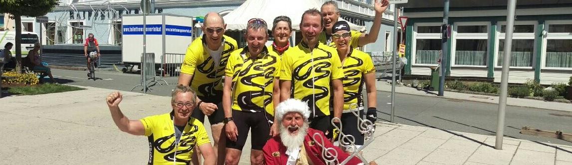 Radlexpress auf Platz 4 beim Amade Radmarathon
