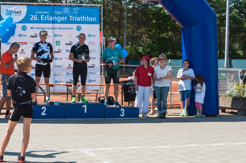 Triathlon Erlangen 2. August 2015