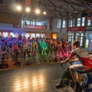 "11. Indoor-Cycling-Marathon in der Moosbacher Bürgerhalle – Bericht ""Der Bote"""